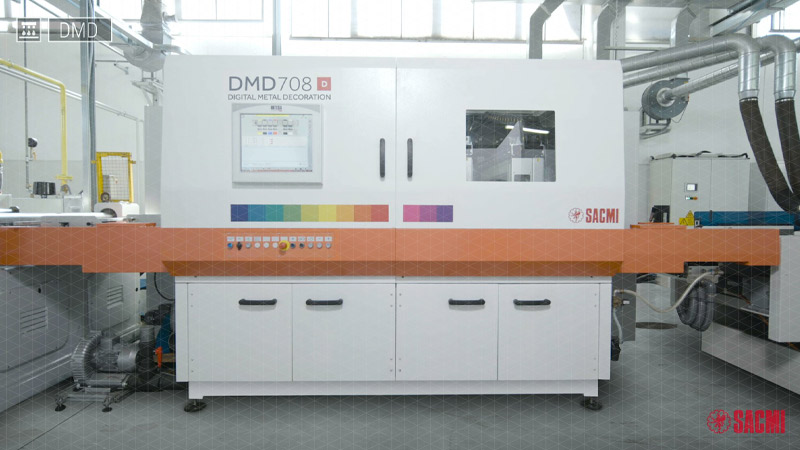 DMD - Digital Metal Decoration Line